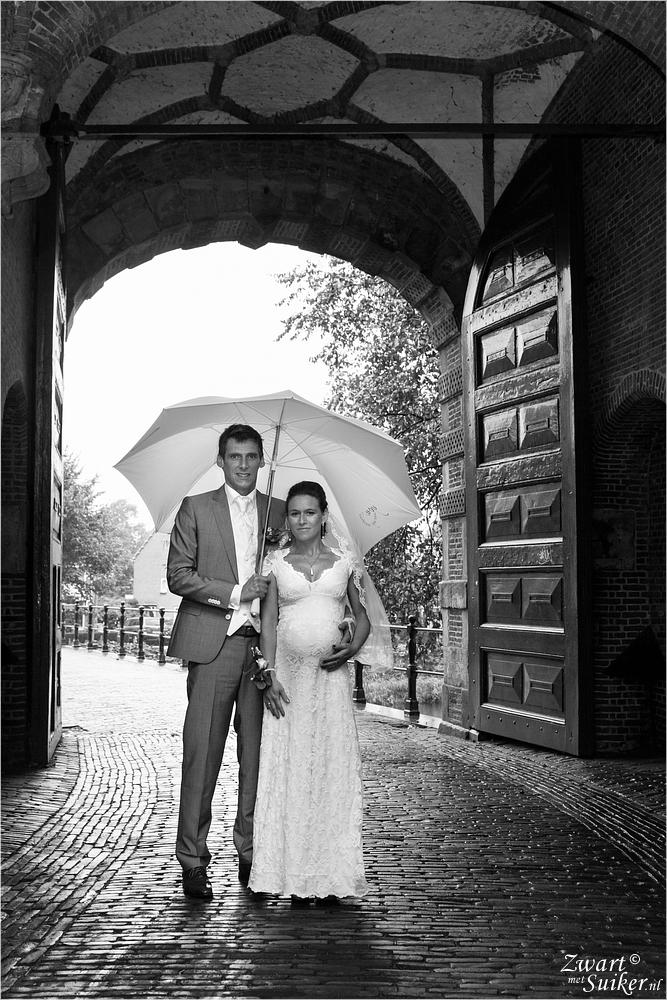 stadspoort-Hoorn-bruidsreportage