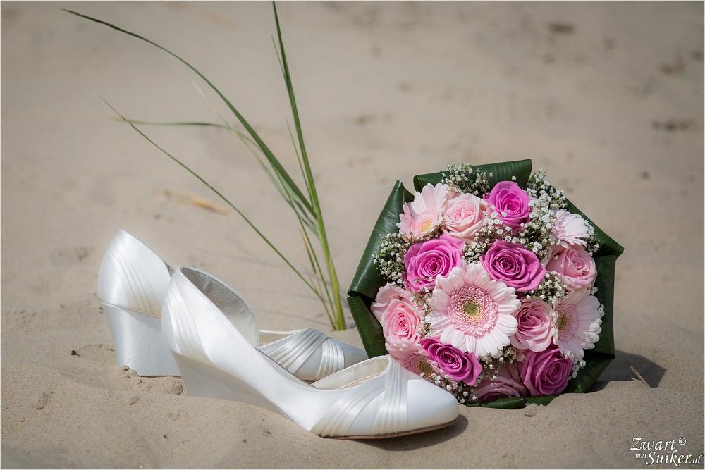 bruidsreportage Julianadorp strand